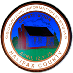 Geographic Information Systems Halifax County Seal