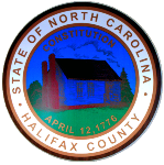State of North Carolina Halifax County Seal