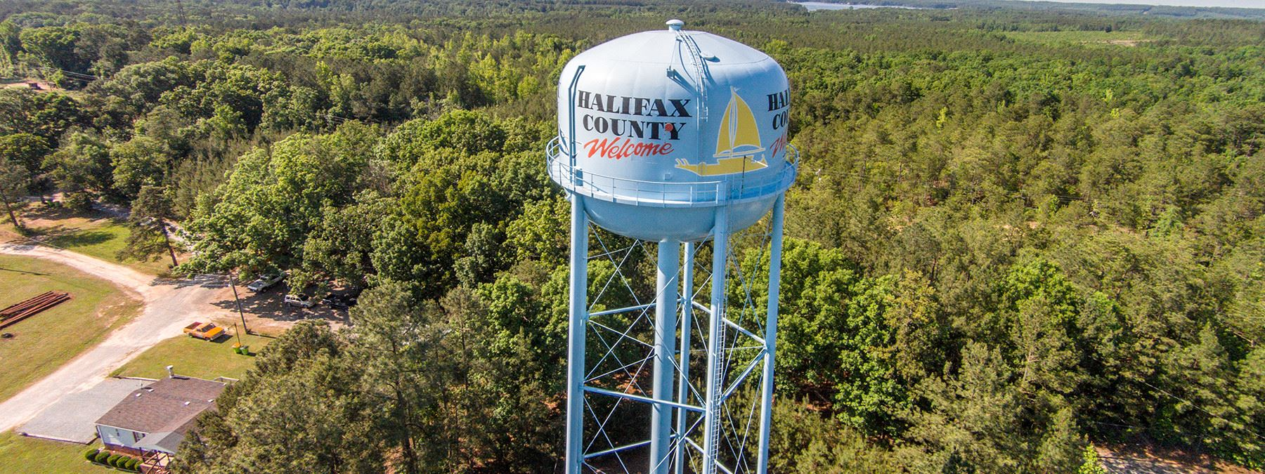 Halifax County Watertower