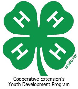 4-H Cooperative Extension Youth Development Program's Logo