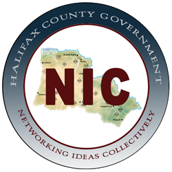 Halifax County Government Networking Ideas Collectively (NIC) logo Opens in new window